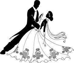 Znalezione obrazy dla zapytania bride and groom motorbike clipart.