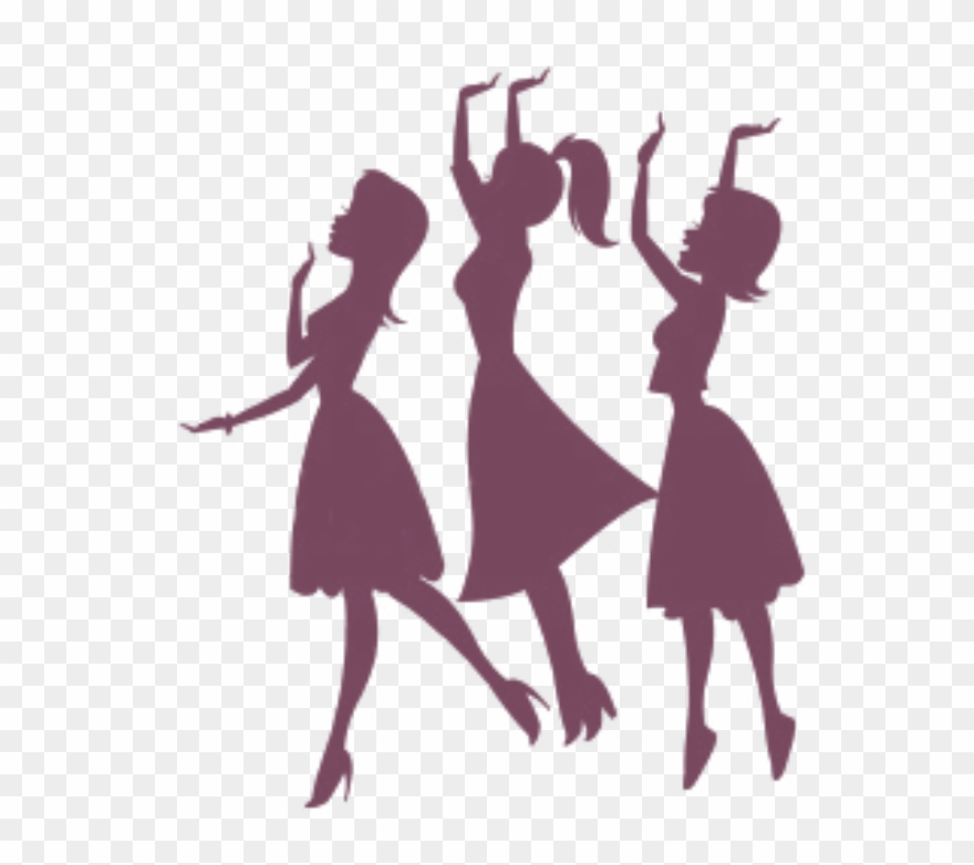 Bridesmaid Silhouette Clip Art.