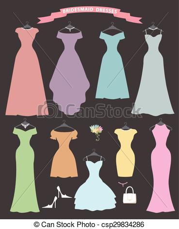 Bridesmaid dress Illustrations and Clip Art. 673 Bridesmaid dress.