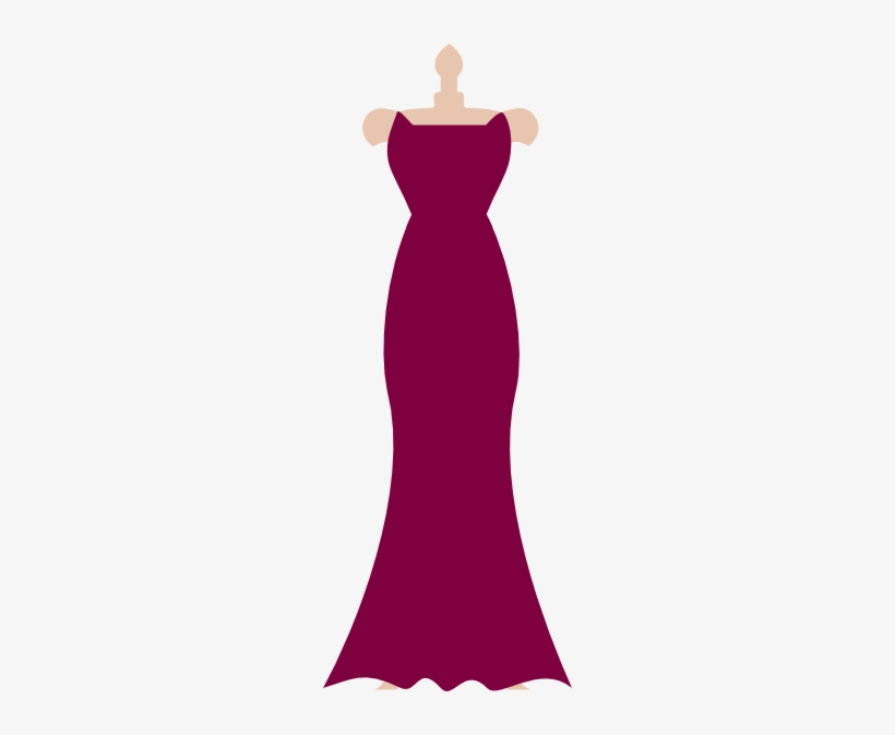 Gown Clipart Bridesmaid Dress.