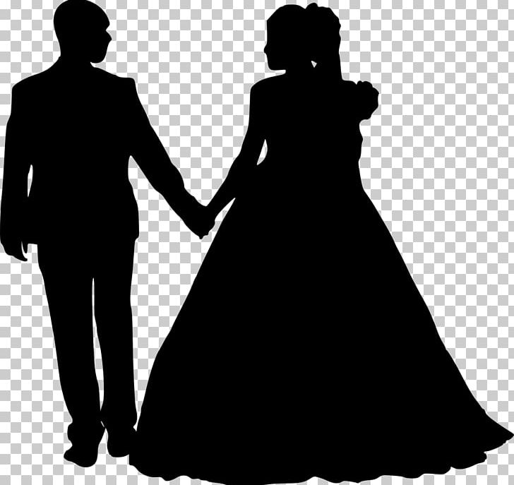 Silhouette Bridegroom Photography PNG, Clipart, Black, Black.