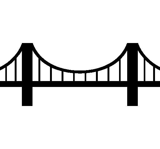 Free Bridge Clipart Black And White, Download Free Clip Art.