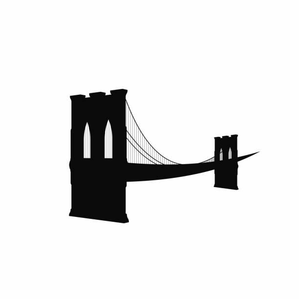 Best Brooklyn Bridge Illustrations, Royalty.