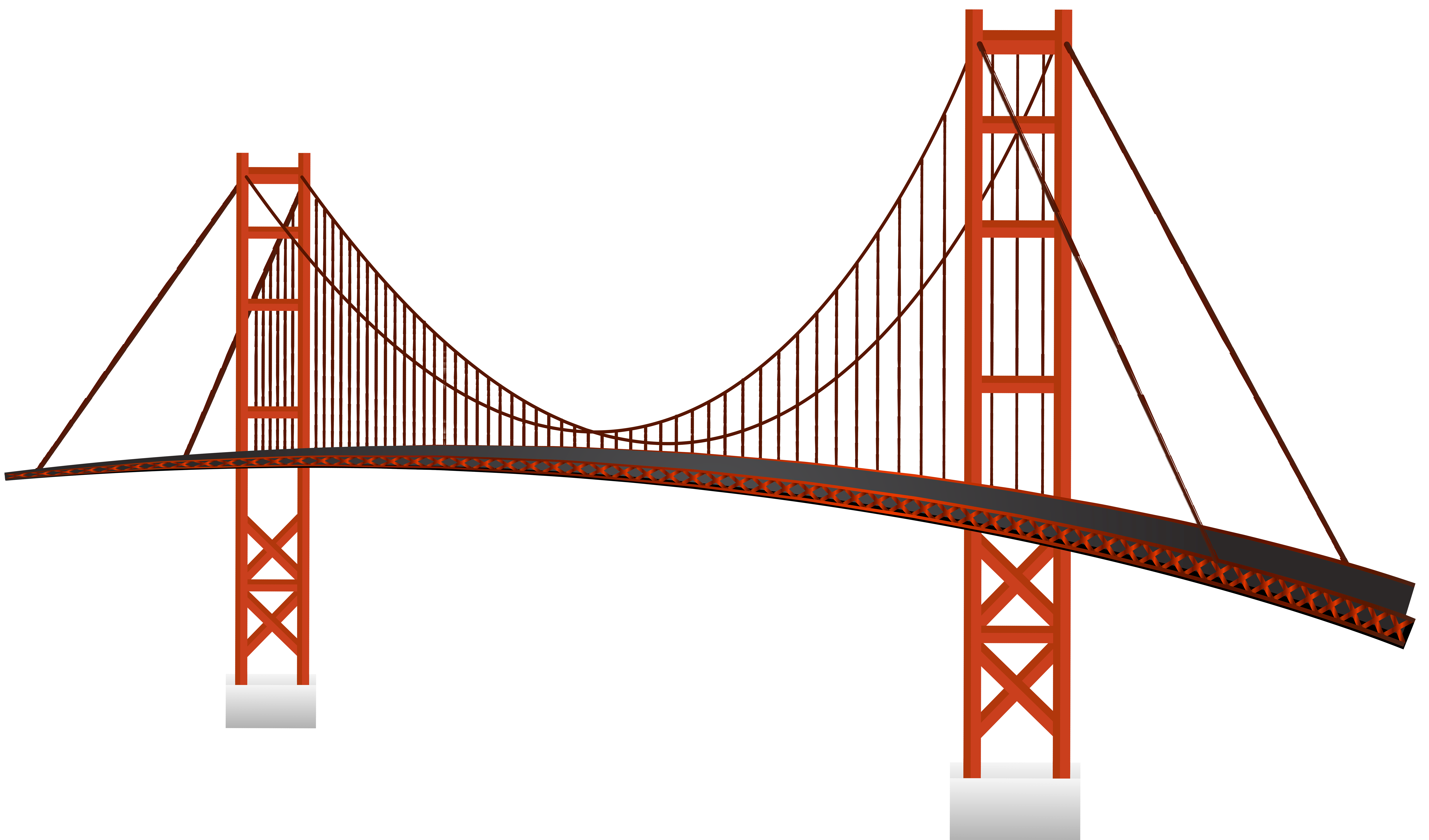 Golden Gate Bridge PNG Clip Art.