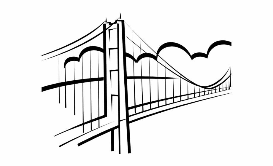 Free Bridge Clip Art Black And White, Download Free Clip Art, Free.