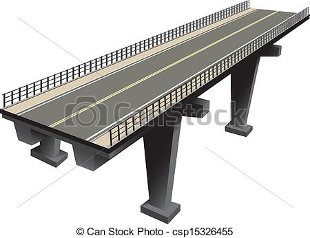 Concrete bridge Vector Clipart EPS Images. 514 Concrete bridge.