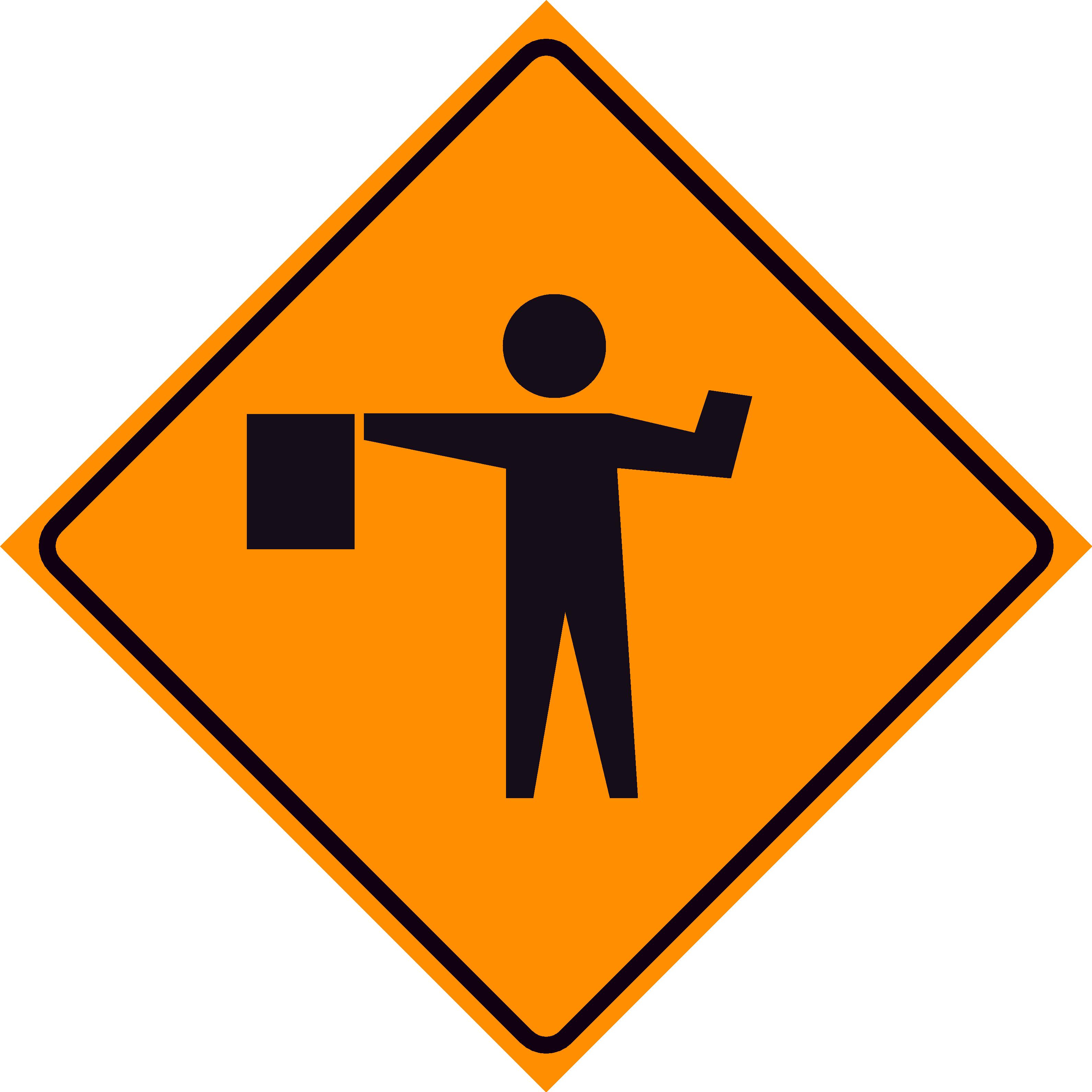 Clipart road signs bridge work.