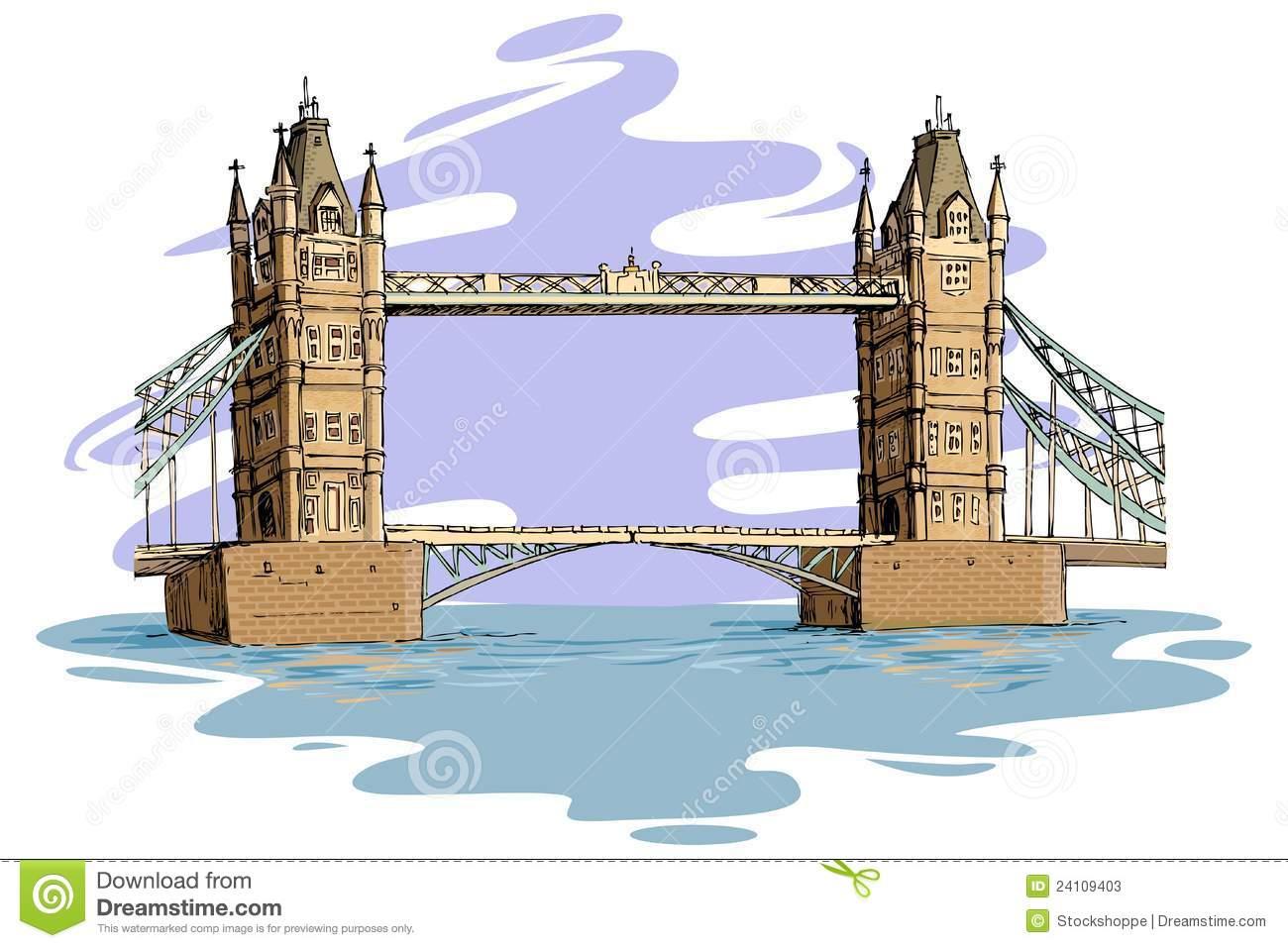London Bridge Clipart.