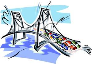 Jam On A Bridge.