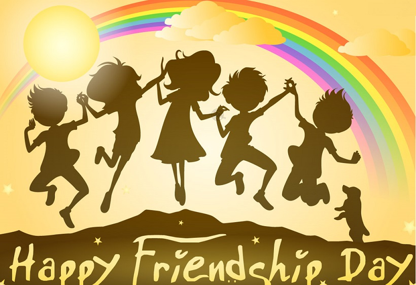 Friendship Day Clip Art.