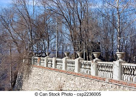 Stock Images of parapet.