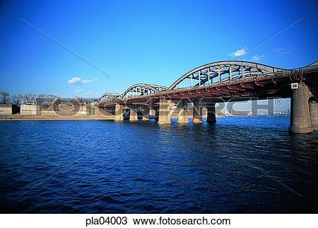 Stock Photo of bridge, pier, bridge, traffic, transport, transit.