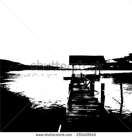 Walking Pier Stock Vectors & Vector Clip Art.