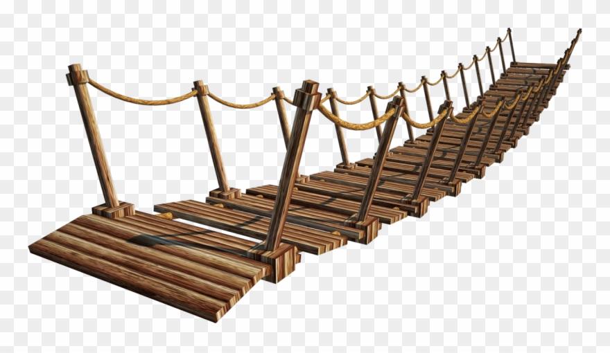 Wooden Bridge Png Image.