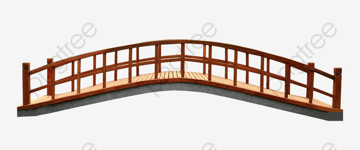 Landscape Bridge, Landscape Clipart, Bridge Clipart, Bridge PNG.