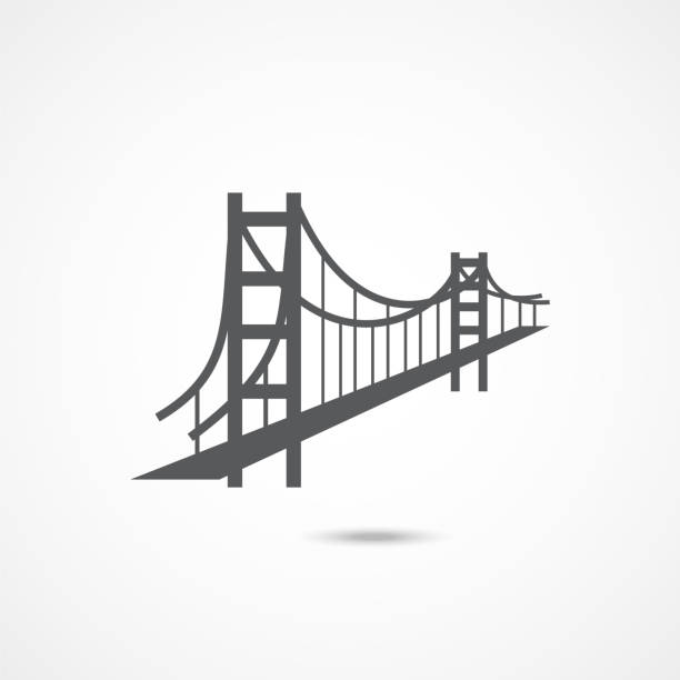 Best Golden Gate Bridge Silhouette Illustrations, Royalty.