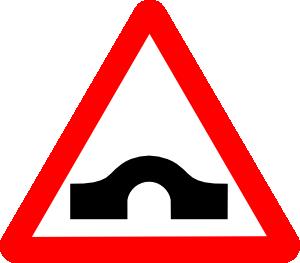 Bridge Road Sign Clip Art at Clker.com.
