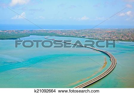 Stock Photo Of Aerial View Denpasar On Bali Showing Buildings