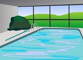 Swimming pool clipart  Indoor swimming pool clipart - Clipground