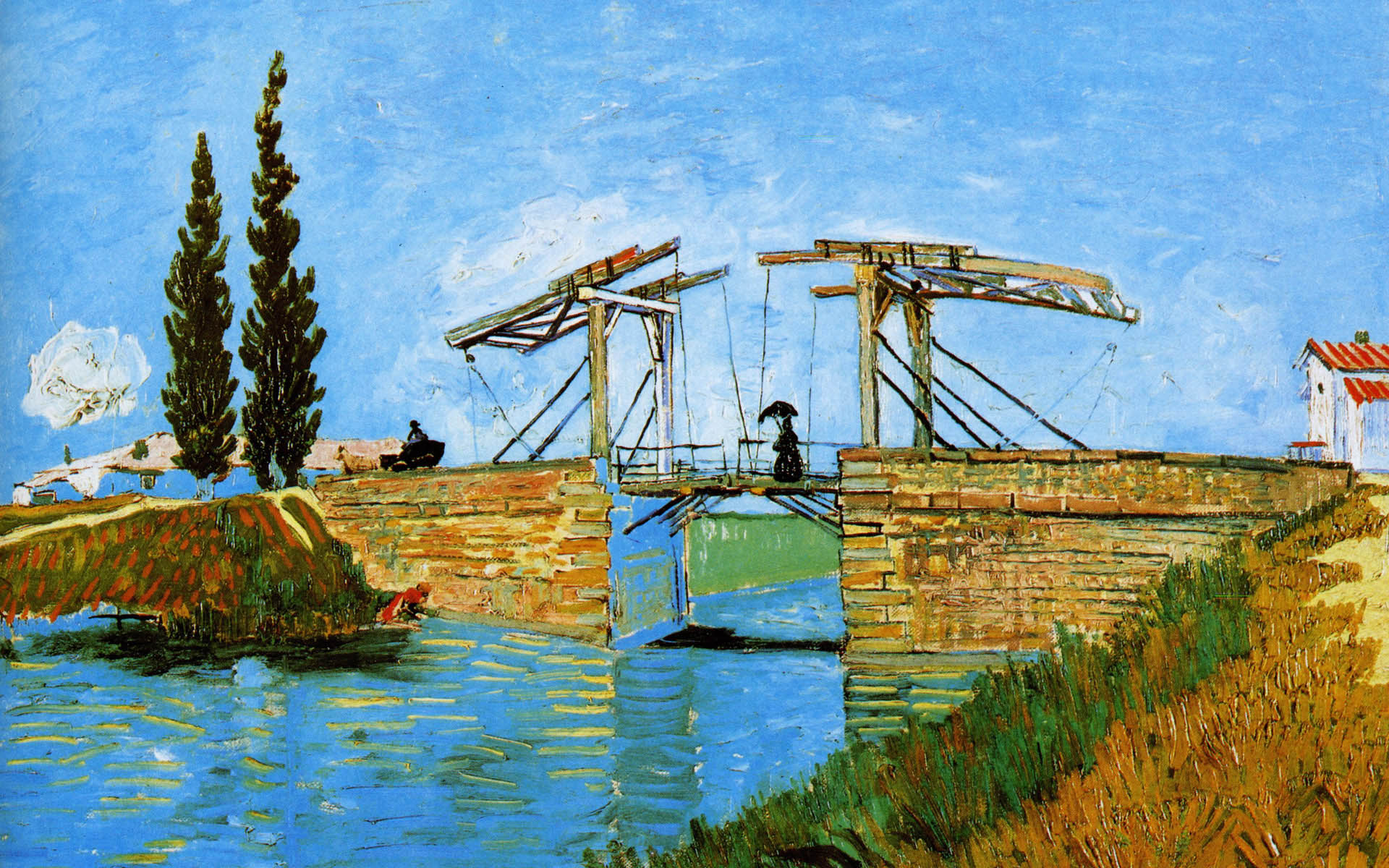 Bridge van gogh clipart #4