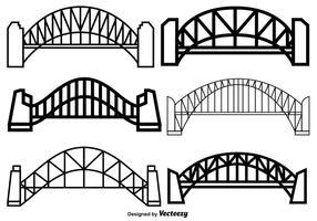 Bridge Free Vector Art.