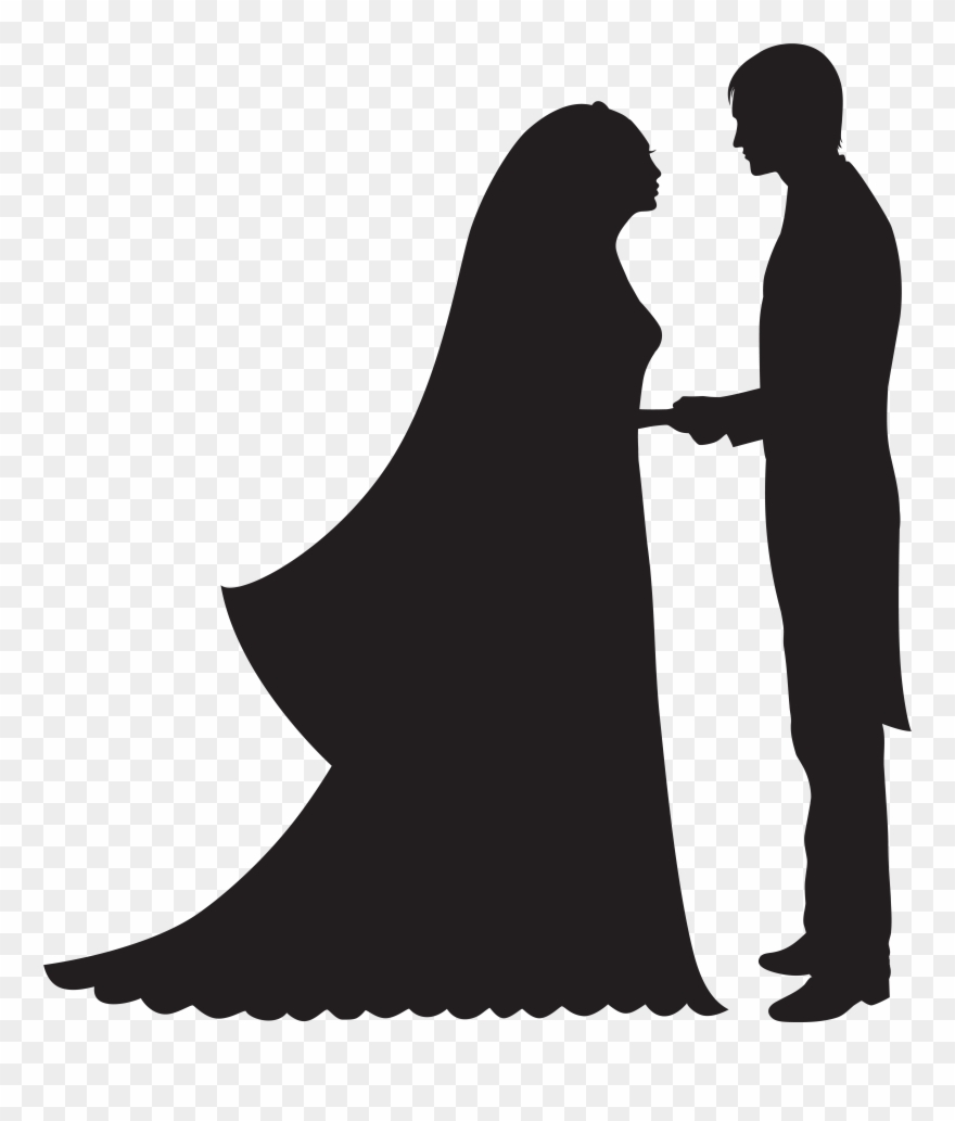 Bride And Groom Png Clip Art Transparent Png (#142060.