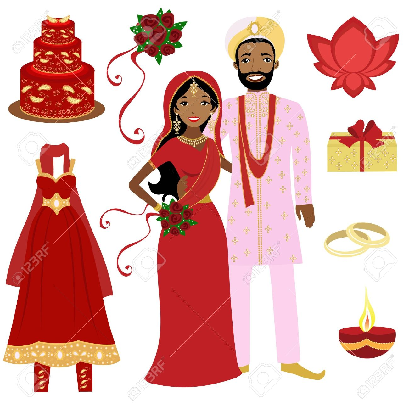 Indian bridegroom clipart 9 » Clipart Station.