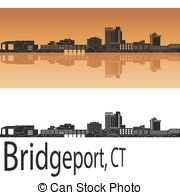 Bridgeport skyline Illustrations and Clip Art. 7 Bridgeport.