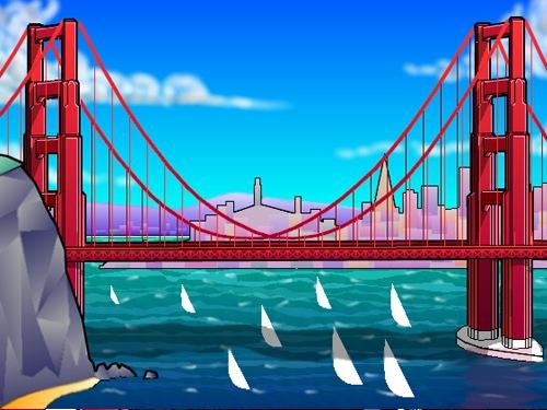 Clip Art of Bridges & Architectural Imagery.