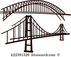 Bridges Clipart and Illustration. 8,245 bridges clip art vector.