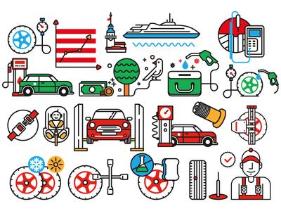 Bridgestone Icons by Kemal Şanlı.
