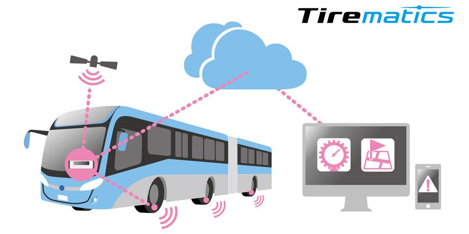 Bridgestone demonstrates the benefits of Tirematics at IAA.