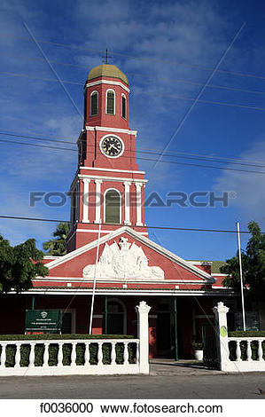Stock Photography of Barbados, Bridgetown, Garrison Savannah.