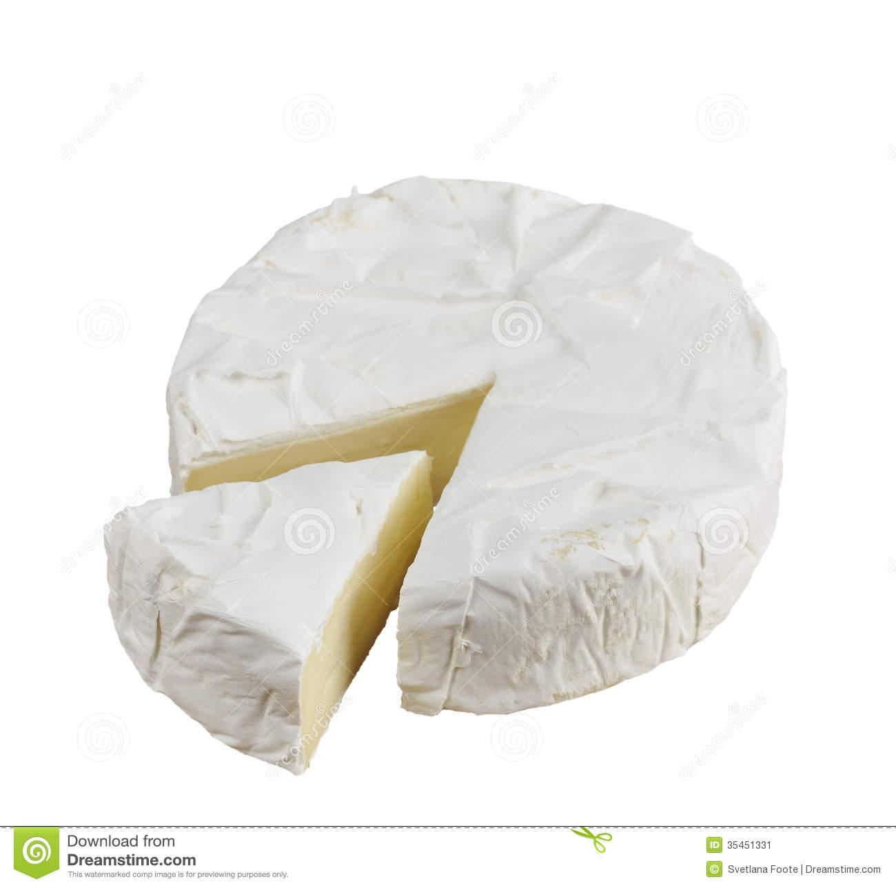 Brie Wheel Clipart.