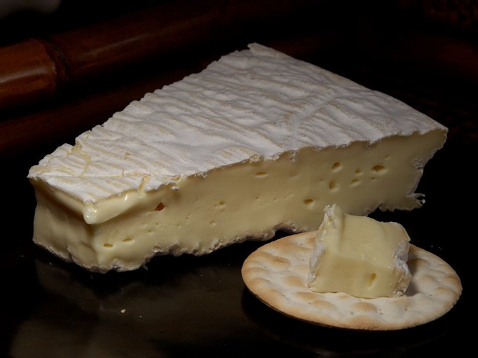 Free photo Brie De Meux Cheese Milk Product Food Ingredient.