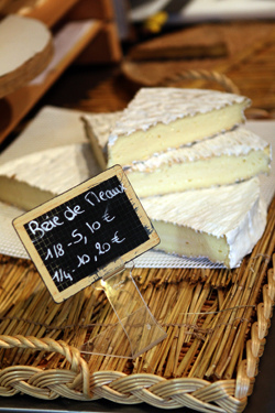 French Brie de Meaux Cheese.