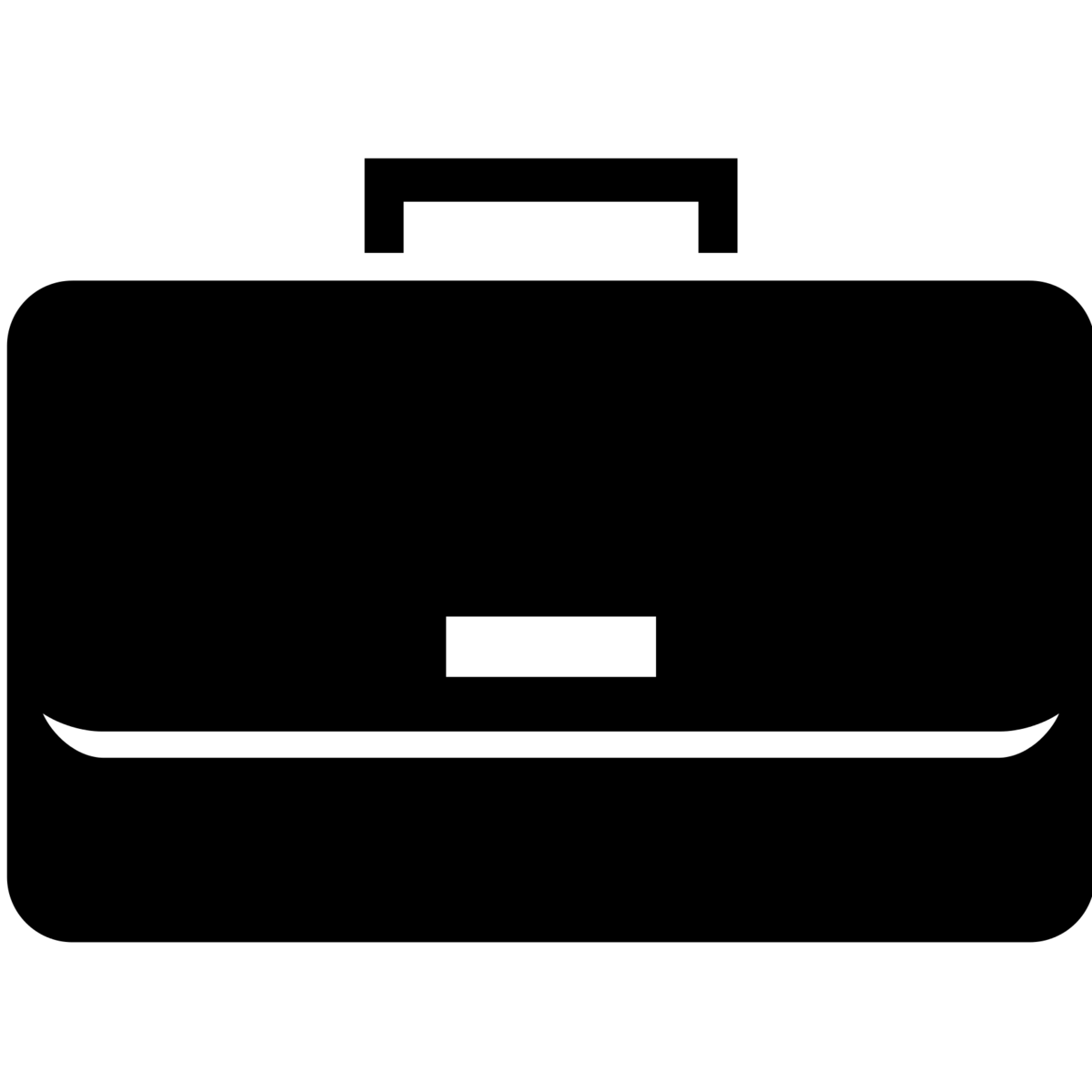Business briefcase clipart.