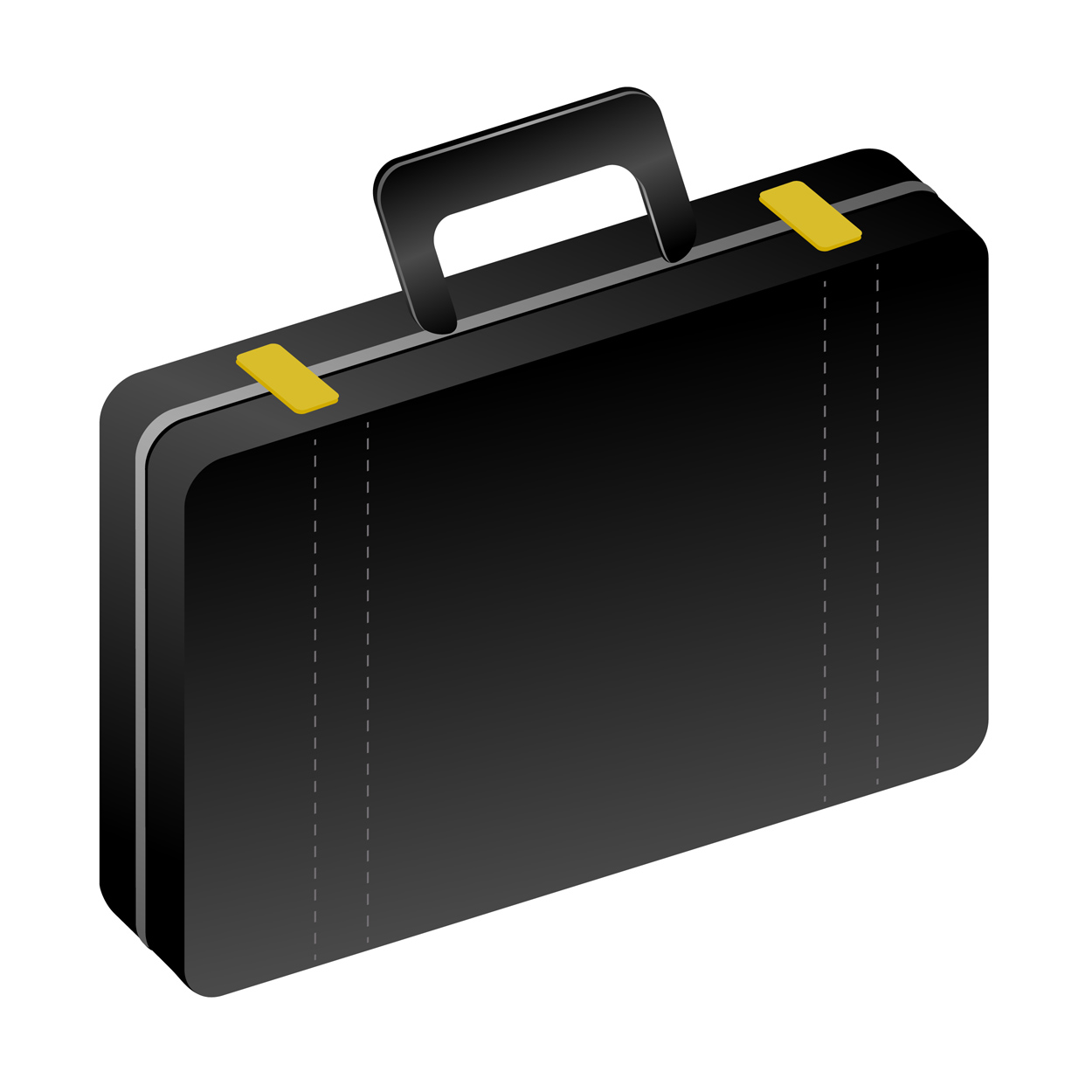 Clip Art Briefcase For Work Clipart.