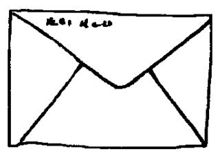 Brief lesen clipart.