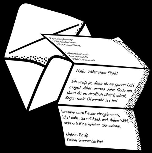 Brief Zeichnung