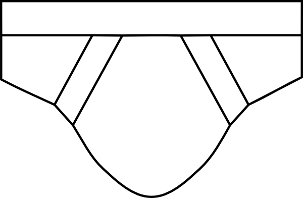Brief Underwear Clipart.