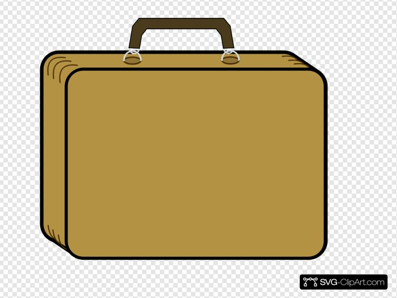 Briefcase Clip art, Icon and SVG.