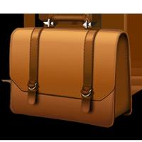 Work briefcase clipart.