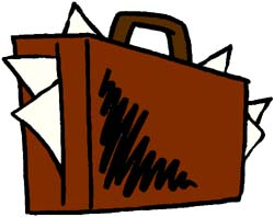 Briefcases clipart images.