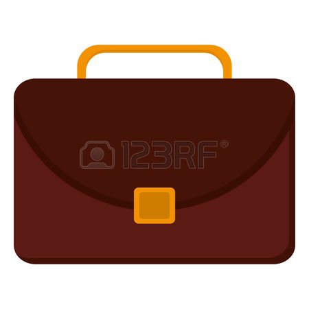 2,235 Brown Briefcase Stock Vector Illustration And Royalty Free.