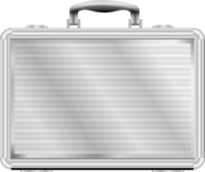 Silver Briefcase Clip Art at Clker.com.