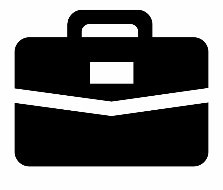White Briefcase Png.