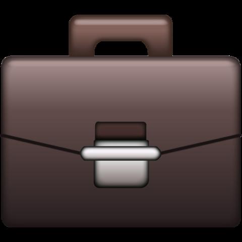 Briefcase Emoji.