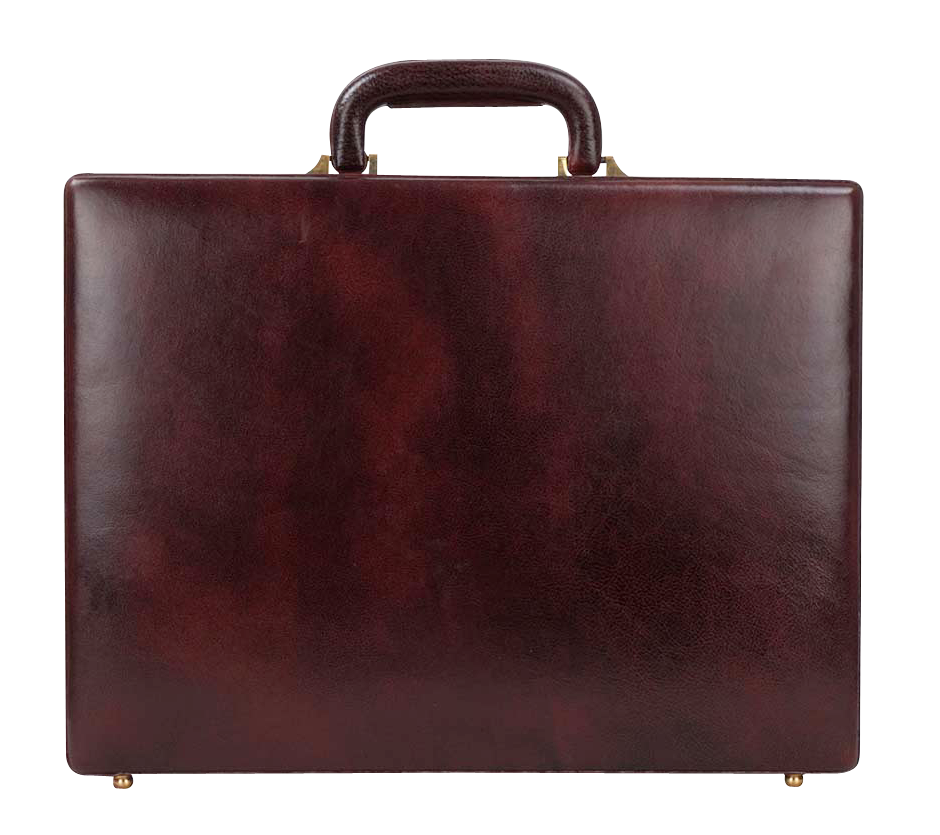 Leather Briefcase PNG PNG Image.