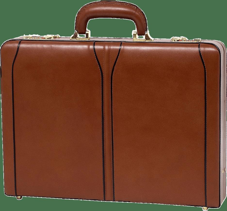 Brown Briefcase transparent PNG.
